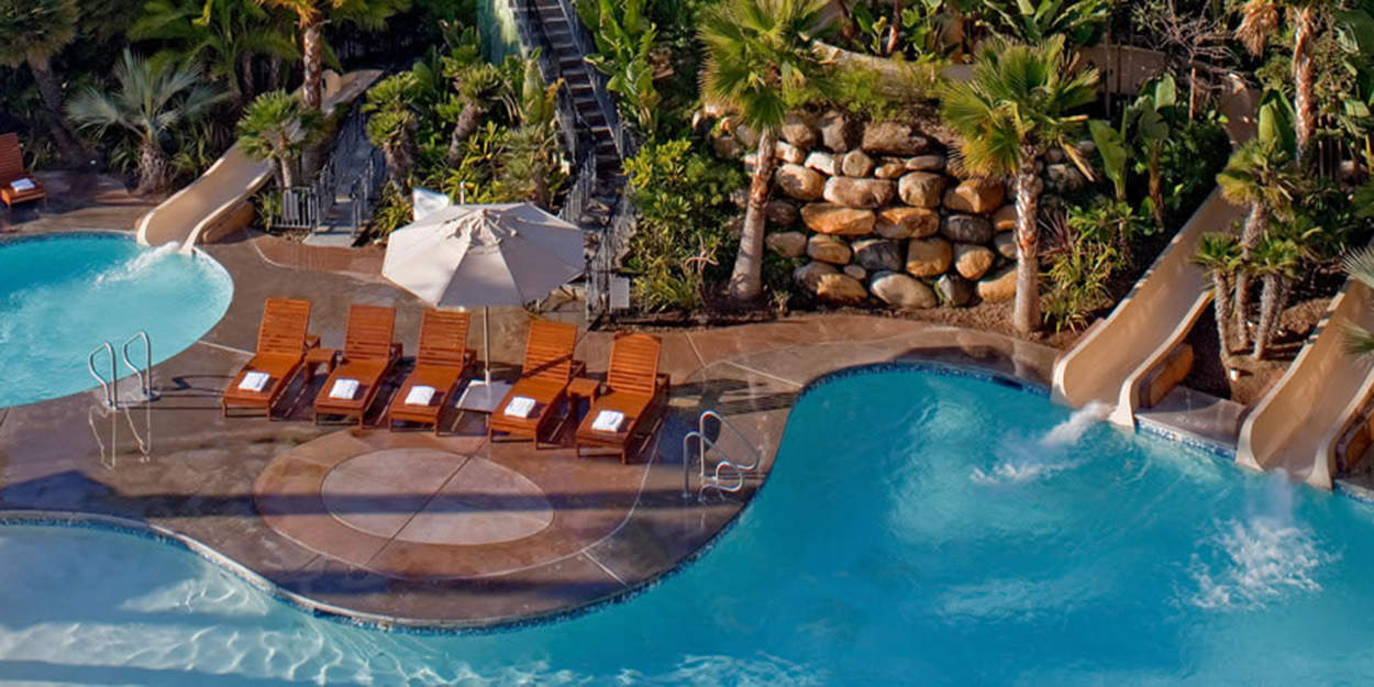 Hyatt-Regency-Mission-Bay-Poolside-Aerial